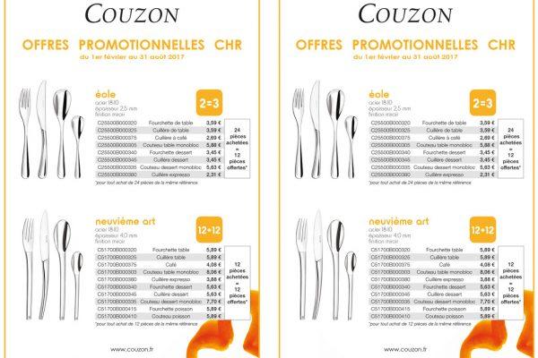 Promotion Couzon en fourniture hôtelière - AAE Alsace