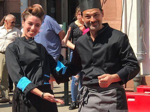 AAE fait son défilé de mode organisé par la CAP Alsace à Haguenau