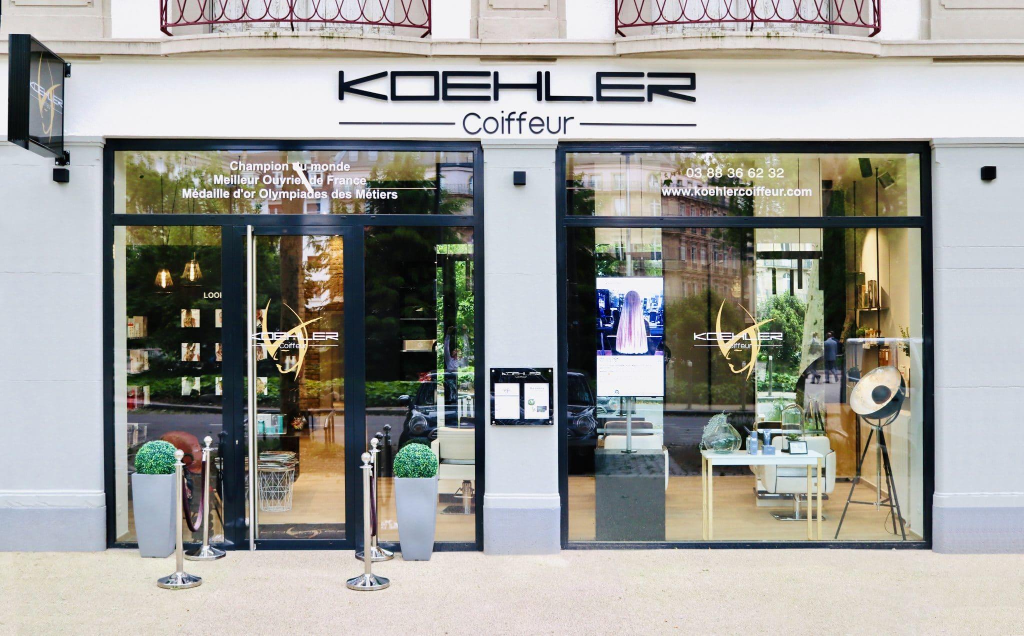 Réalisation AAE - Koehler Coiffeur - Strasbourg